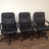 Matching Black Office Chairs in CyFair, Texas