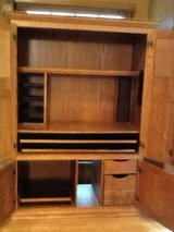 Computer Hutch-solid wood in Bolingbrook, Illinois