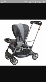 Baby Trend Sit and Stand Double Stroller in Naperville, Illinois