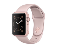 Rose Gold Apple Watch in Chicago, Illinois