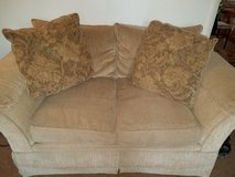 Loveseat and couch in Camp Lejeune, North Carolina