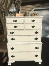Ethan Allen hand painted white dresser in Naperville, Illinois