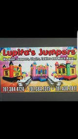 Jumpers for Rent and tables chairs in Vacaville, California