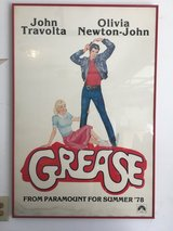 Original Grease poster in Byron, Georgia