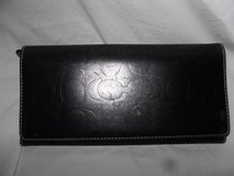 Coach Black Leather Wallet in Tinley Park, Illinois