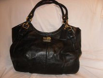 Coach Black Leather Purse in Glendale Heights, Illinois