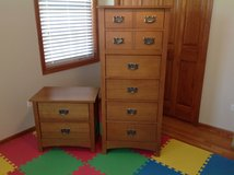 Matching Dresser and Night Stand in Chicago, Illinois