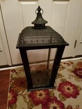 Large / Black / Iron Glass Lantern in Fort Campbell, Kentucky