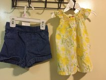 3T short/floral top in Okinawa, Japan