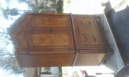 !!! GREAT LOOKING ARMOIRE AND BED SET!!! in Baytown, Texas