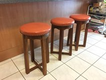 3 Bar / Kitchen Stools in Ramstein, Germany