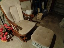 glider rocker beige no stool sorryl in Wilmington, North Carolina