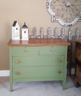 Old Repinted 4 drawer dresser chest in Naperville, Illinois