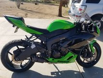 Zx6r 2012 in Yucca Valley, California
