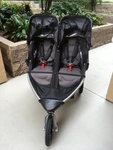 BOB 2016 Revolution FLEX Duallie Stroller + Britax/BOB Infant Car Seat Adapter in Temecula, California