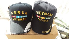 Veterans hats in Fort Knox, Kentucky