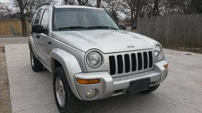 2002 jeep liberty 4x4 moon roof in Naperville, Illinois