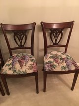 5 wood dining chairs in Bolingbrook, Illinois