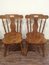 Wooden Dining Table Chairs in Kingwood, Texas