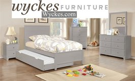 Grey Youth Bedroom Set in San Diego, California