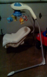 infant baby swing  1st come, 1st serve in Naperville, Illinois