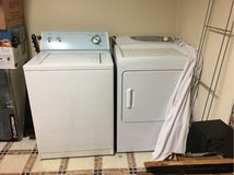 Washer and dryer in Bolling AFB, DC