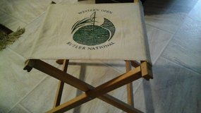 Vintage Western Open Butler National Folding Chair in Naperville, Illinois