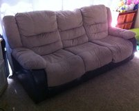 Free Tan and Dark Brown Couch - Fallbrook in Camp Pendleton, California