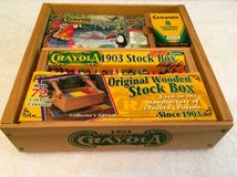 Crayola Trademark Original Wooden Stock Box in Tampa, Florida