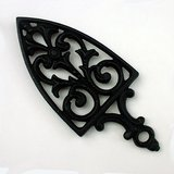 BLACK CAST IRON CATHEDRAL TRIVET in Glendale Heights, Illinois