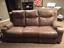 Double Power Reclining Sofa with Power Headrest in Hopkinsville, Kentucky