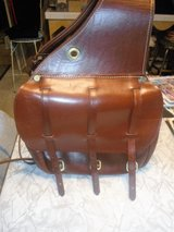 LEATHER SADDLE BAGS > VGC in Chicago, Illinois