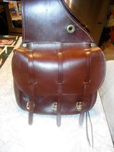leather saddle bags > Triple K , BRAND  > VGC in Chicago, Illinois
