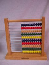 Melissa & Doug Abacus Classic Wooden Educational Counting Toy With 100 Beads in Lockport, Illinois