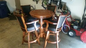 bar table with 4 chairs in Bolingbrook, Illinois