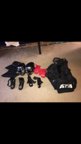 Ata Boxing Accesories with bag *make an offer* in Bartlett, Illinois