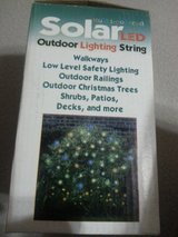 Christmas Outdoor Solar LED lights in Ramstein, Germany