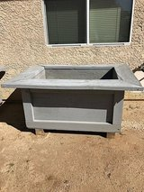 Large Wooden Garden Planter Box in Yucca Valley, California