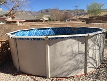 15 ft  above ground pool in Alamogordo, New Mexico