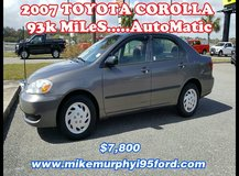 *** 2007 Toyota COROLLA LE.....OnLy 93k MiLeS *** in Hinesville, Georgia