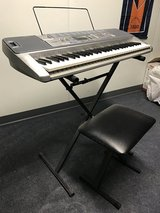 Casio Keyboard, Stand, and Chair in Naperville, Illinois