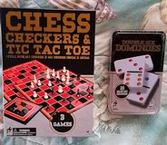 dominoes, checkers, tic tac toe and chess in Camp Pendleton, California