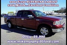 *** '04 FORD F-150 LaRiaT SuperCab...GREAT CONDITION...OnLy 120k MiLeS *** in Hinesville, Georgia
