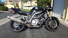 2005 SV650 in Camp Pendleton, California