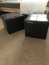 2 Ottomans from TARGET HOME in Camp Pendleton, California