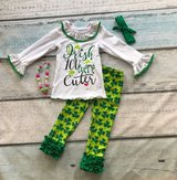 St. Patrick's Day Girls Outfit/Dress-Size 4/5 in Aurora, Illinois