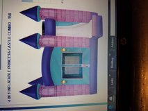 4 in 1 inflatable princess castle combo (bounce house) in Naperville, Illinois
