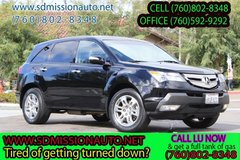 2009 Acura MDX SH-AWD wTech wRES Ask for Louis (760) 802-8348 in Camp Pendleton, California