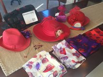 Red Hats Society collection in Naperville, Illinois