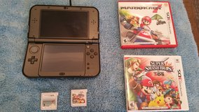 New Nintendo 3DS with games in Okinawa, Japan